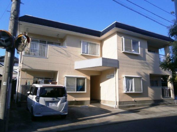 藤沢市アパート塗り替え完了