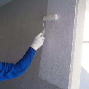外壁部下塗り