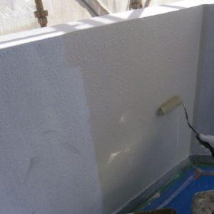 外壁部中塗り