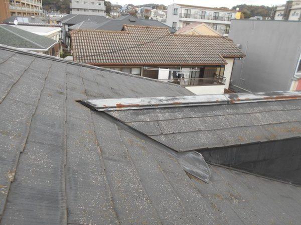 屋根塗装 施工前と施工後の比較