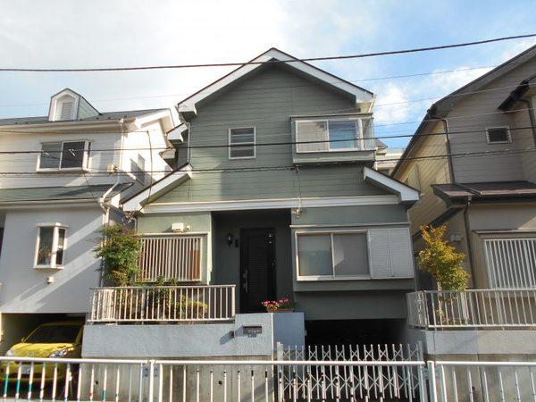 藤沢市住宅塗替え終了しました。